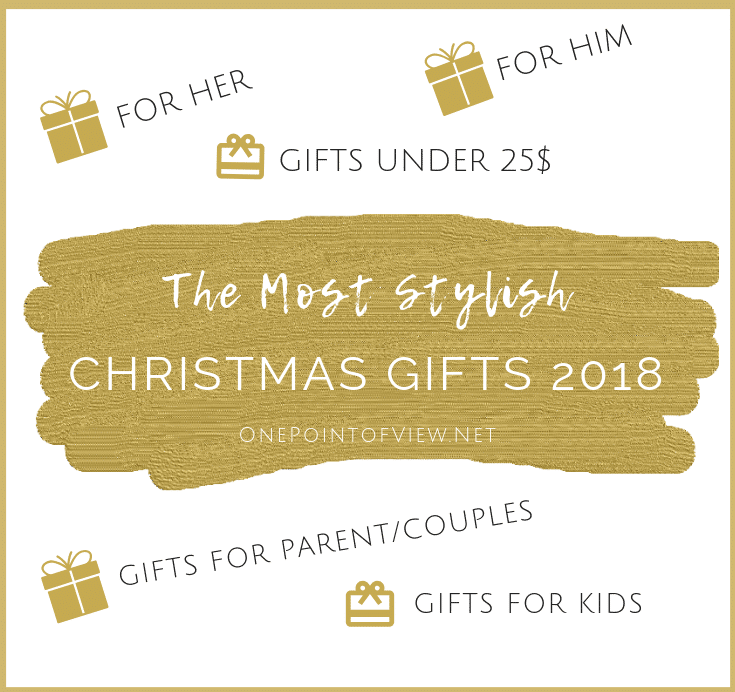 The Most Stylish Christmas Gifts 2018